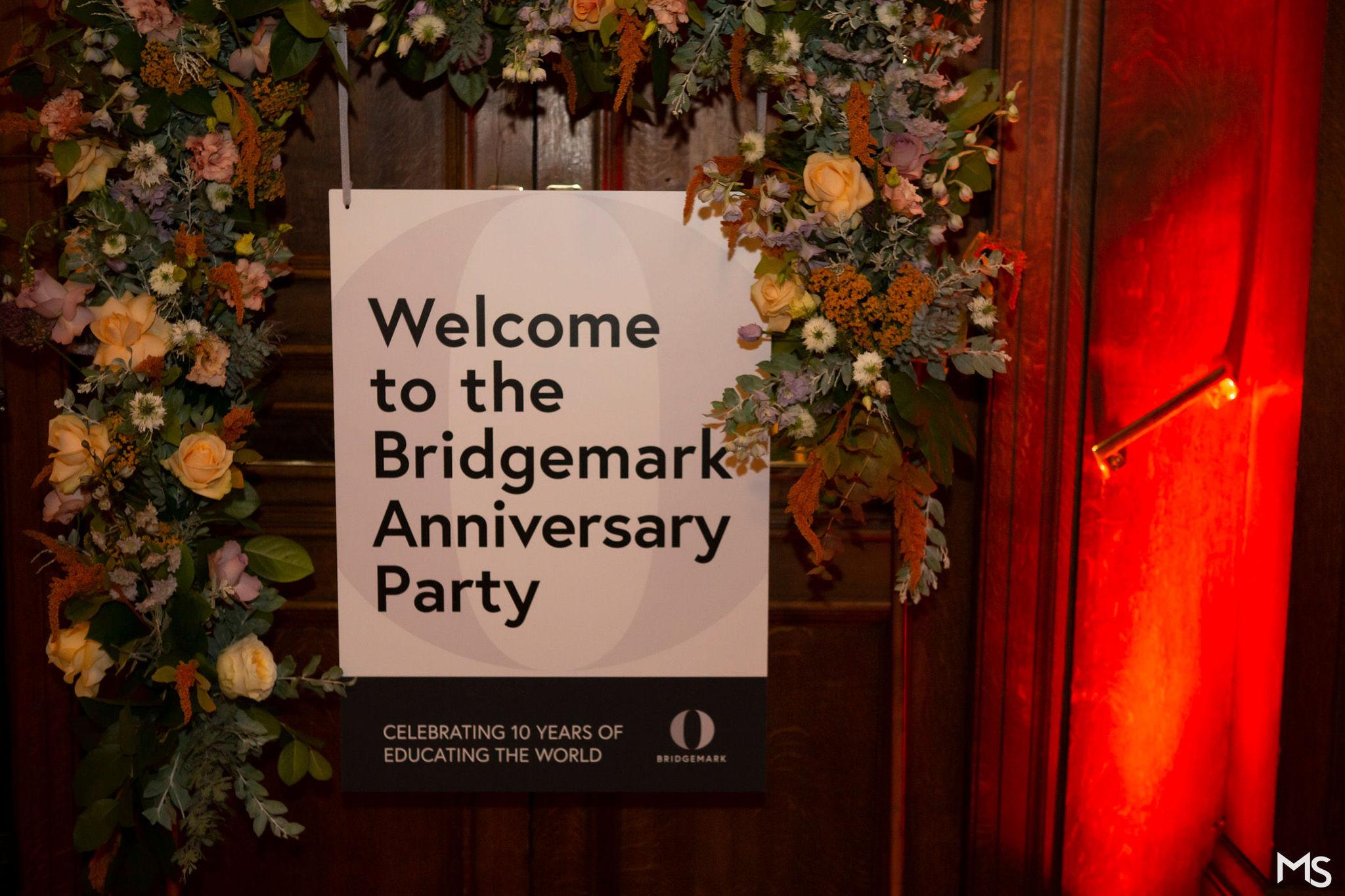 10 year Anniversary – Oxford Summer Courses – Bridgemark