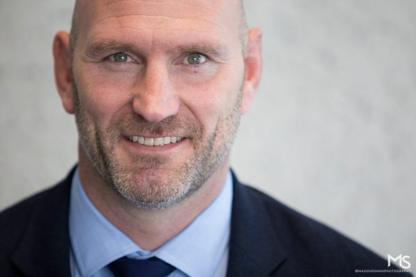 Lawrence Dallaglio by  Masoud Shah